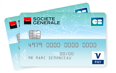 Carte Cb V Pay Societe Generale